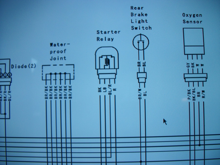 Ignition/ACC switched wire near battery? - Kawasaki Z125 Forum