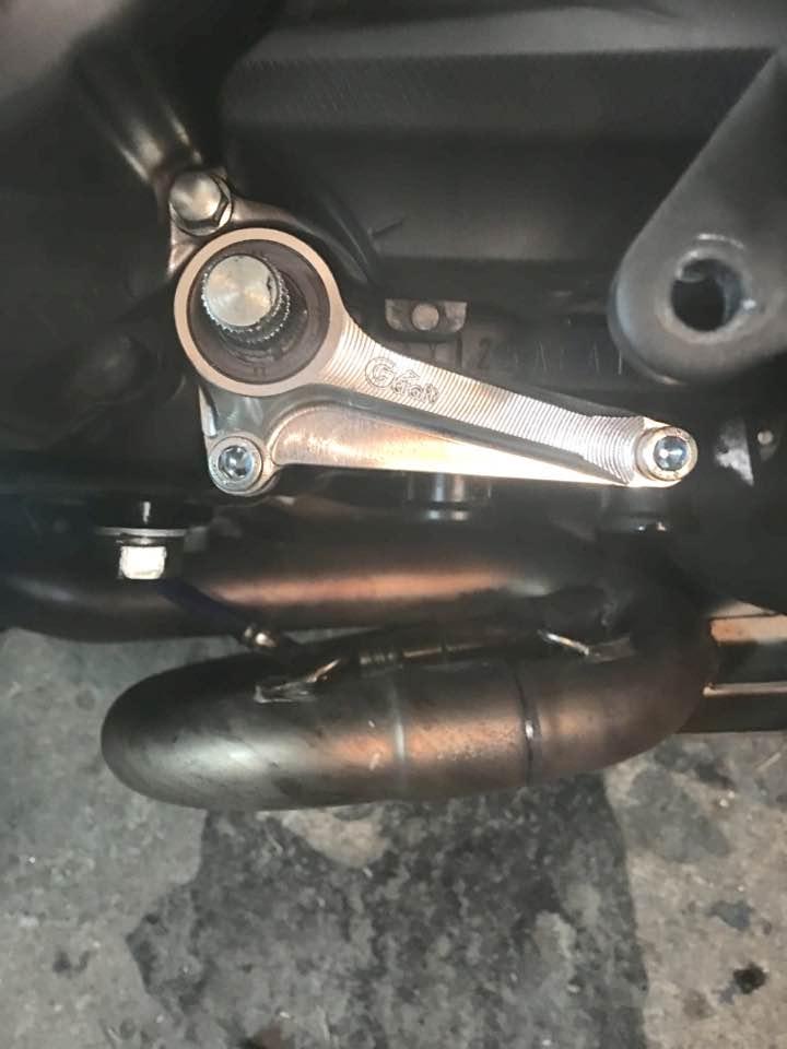 Gcraft shift shaft guide review - Kawasaki Z125 Forum