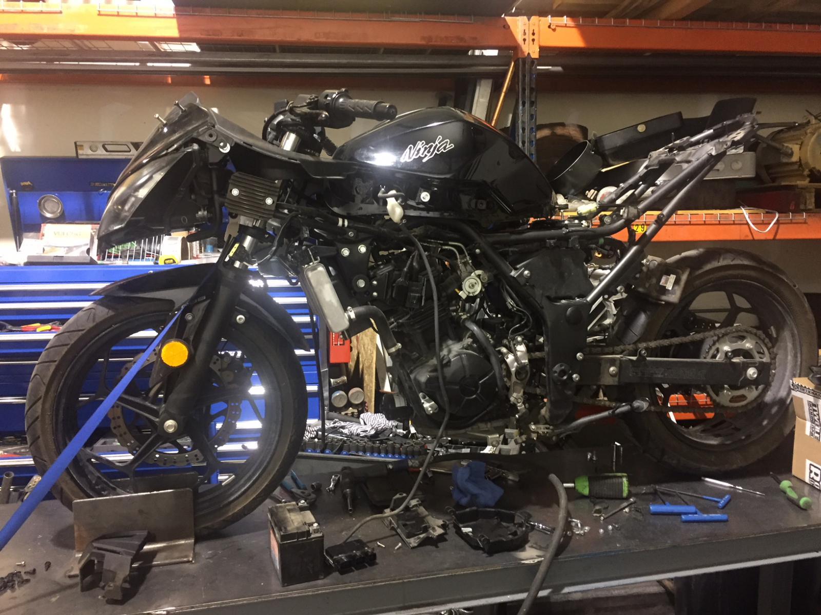300 engine swap project!!! - Kawasaki Z125 Forum