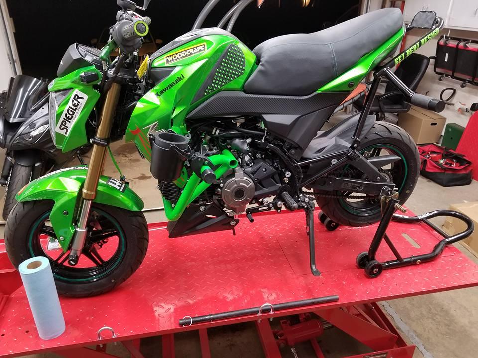 new exhaust/need ecu reset - Kawasaki Z125 Forum