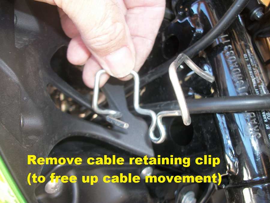 Definitive Replacement Clutch Cable Thread - Kawasaki Z125 Forum