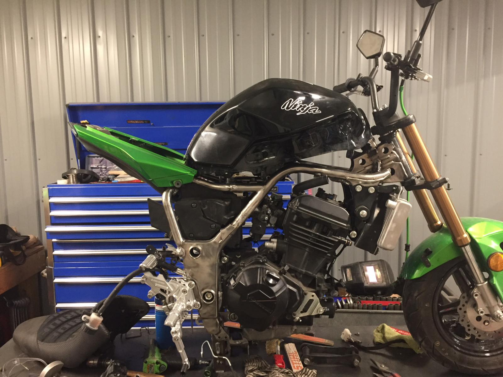 Kawasaki Engine Swap