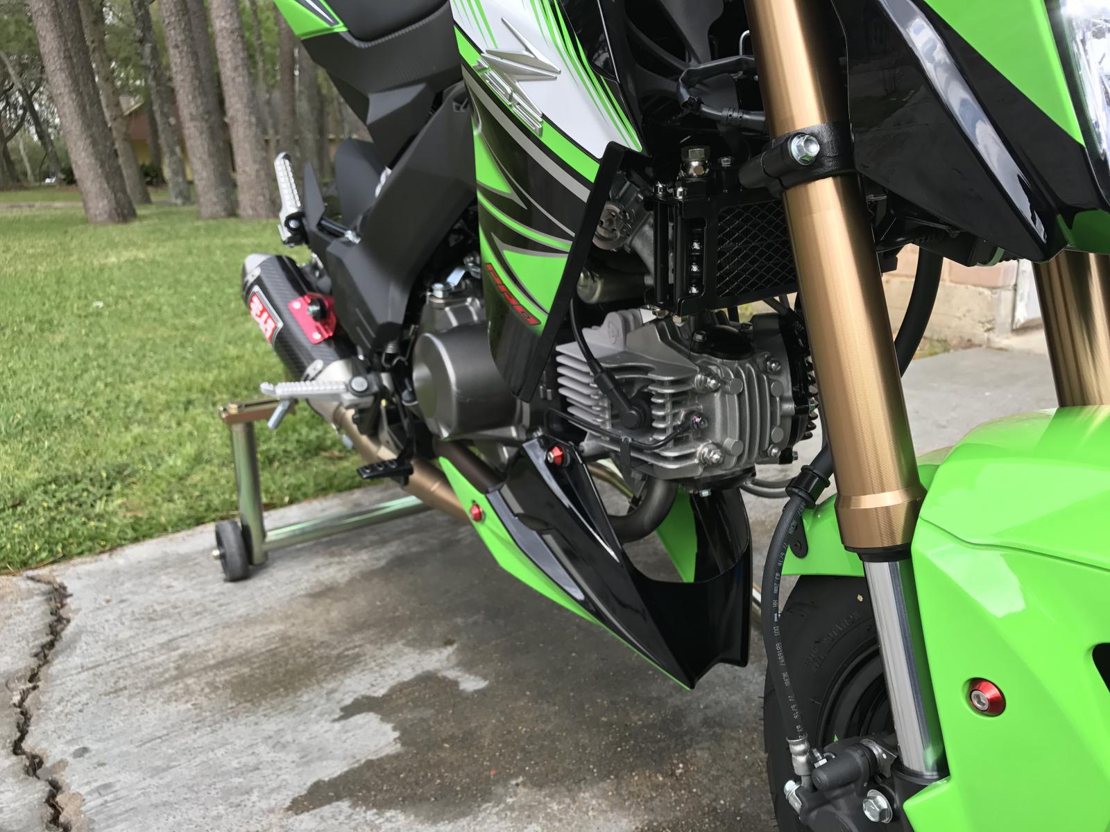 Z125 143cc big bore race head! - Page 2 - Kawasaki Z125 Forum