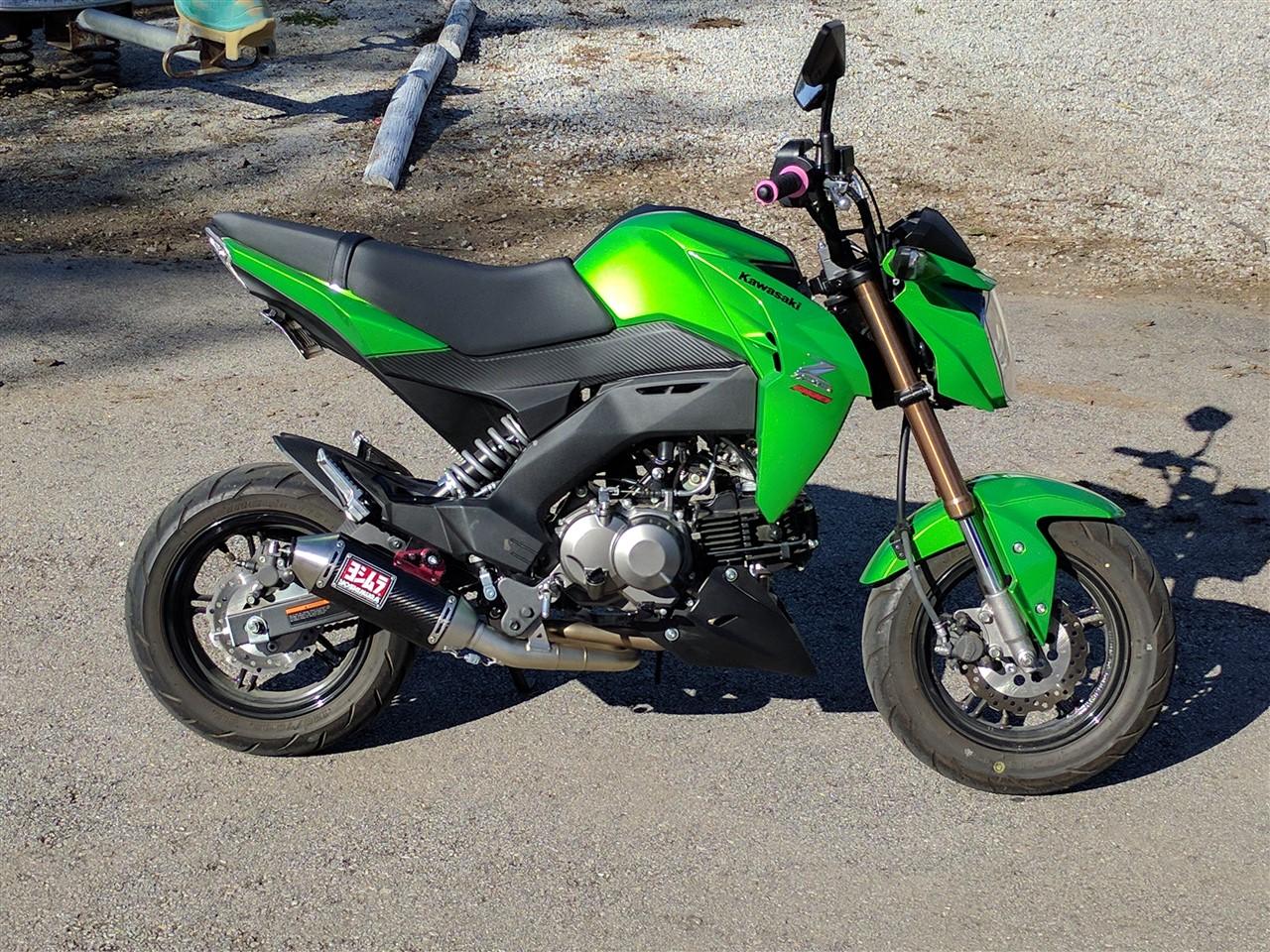 Kawasaki Z125 Forum - View Single Post - Lime Green Kawasaki