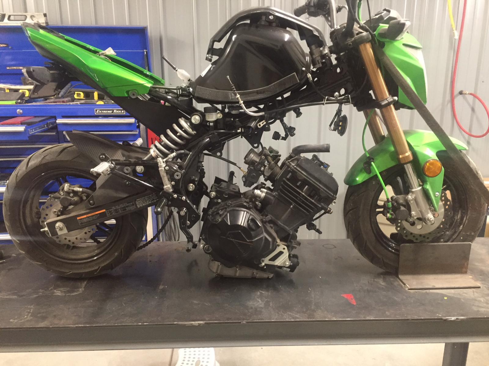 300 engine swap project!!! - Page 3 - Kawasaki Z125 Forum